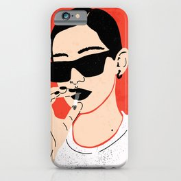 Girl Boss (Red) iPhone Case