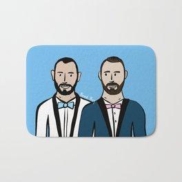 Beard Boy: Albert & Lucho Bath Mat