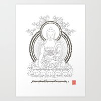 Duk Shey Seng Sum - The Great Obstacle Remover Art Print