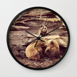 Bear with me... Wall Clock