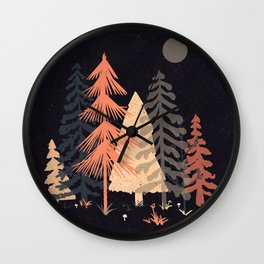 A Spot in the Wood... Wall Clock