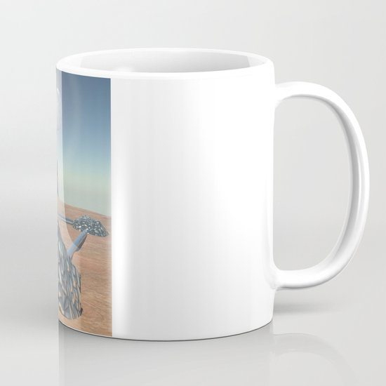Mars Babylon Colony, view of Armageddon  Mug