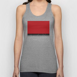 Red and purple pattern Unisex Tank Top