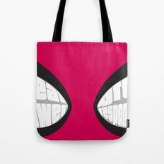 Spider-man Eyes Tote Bag