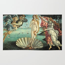 Sandro Botticelli's The Birth of Venus Rug