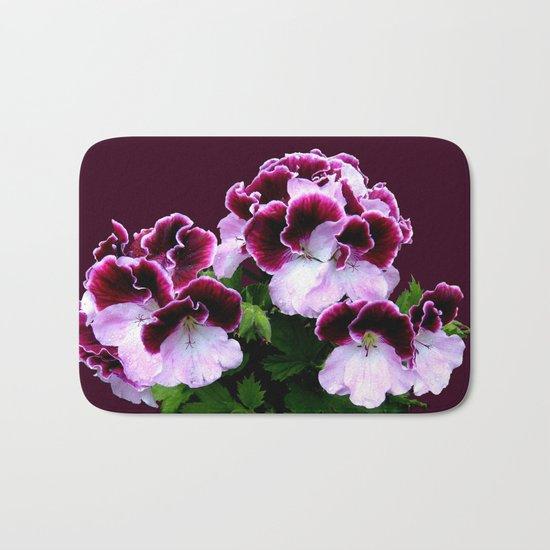 Pink, Purple, Flower Power Bath Mat