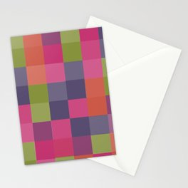 MADRAS CHECKS Stationery Cards