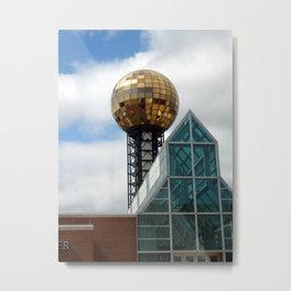 Sunsphere Metal Print