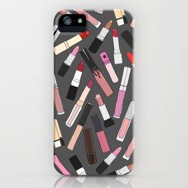 Lipstick Party - Dark iPhone Case