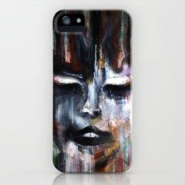 Paint a Gril iPhone Case