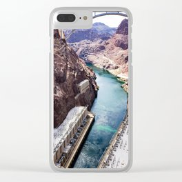 Hoover Dam III Clear iPhone Case