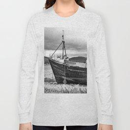 Highland Shipwreck - b/w Long Sleeve T-shirt