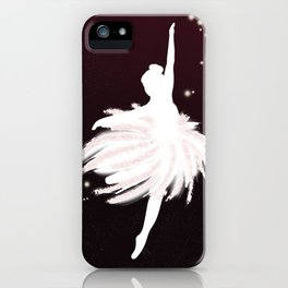 Space Ballerina (1 of 3) iPhone Case