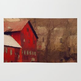 Old Red Mill Rug