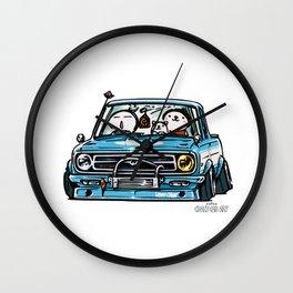 Crazy Car Art 0144 Wall Clock