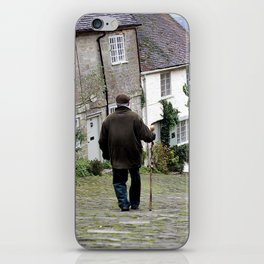 Gold Hill, Shaftesbury iPhone Skin