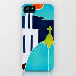 Greek Islands 1 iPhone Case