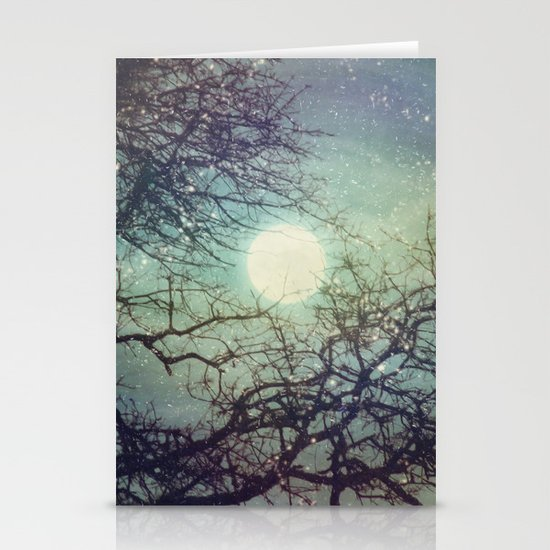 Winter Eve Stationery Cards
