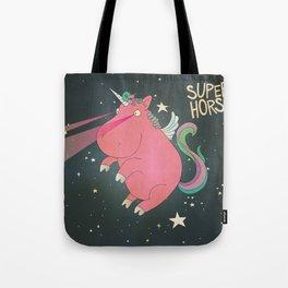 Super Horse... Unicorn Dreams. Tote Bag