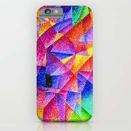 Spherical Expansion of Light No. 2, Centripetal and Centrifugal by Gino Severini iPhone Case
