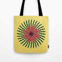 coral flower Tote Bag
