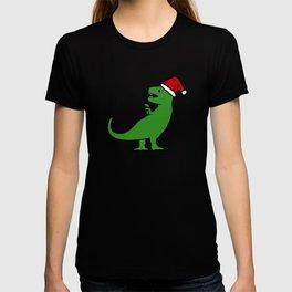 Christmas T-Rex T-shirt