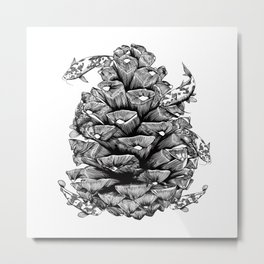 Around The Seed Metal Print