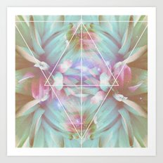 COSMIC NATURE III Art Print