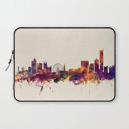 Manchester England Skyline Laptop Sleeve
