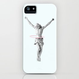 HULA HOOP JESUS iPhone Case