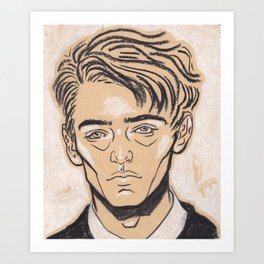 School Boy Art Print