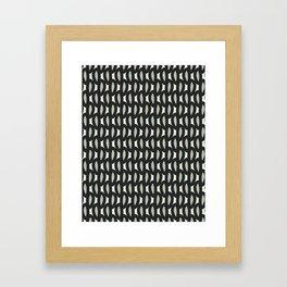 geo six-celadon Framed Art Print