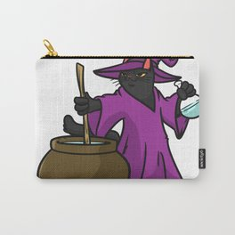 witch cat Carry-All Pouch