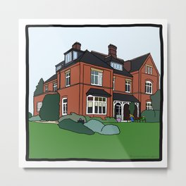 Cambridge struggles: Lucy Cavendish Metal Print