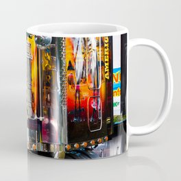 Front view American Style Truck Coffee Mug