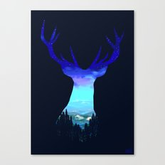 Deer Country Canvas Print