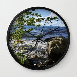 Hard Splash Wall Clock