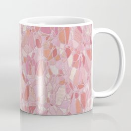 Pastel Pink Terrazzo Design Coffee Mug