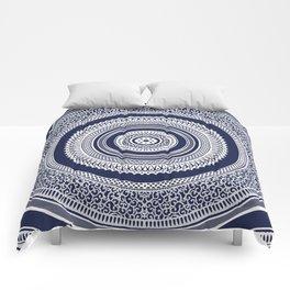 Denim Mandala Comforters