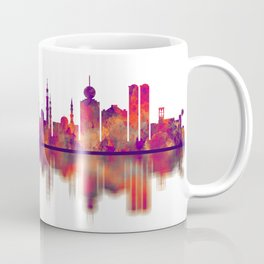 Ras Al-Khaimah UAE Skyline Coffee Mug
