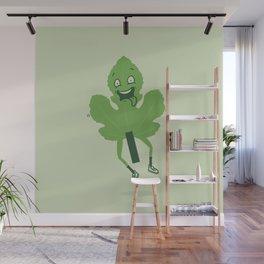 Flashing Fig Leaf Wall Mural