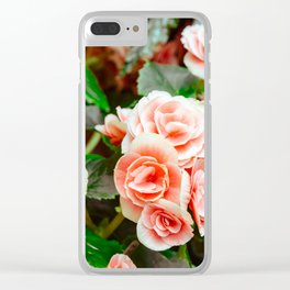 FLOWERS - FLORA - PETALS - BLOSSOMS - BEAUTIFUL Clear iPhone Case