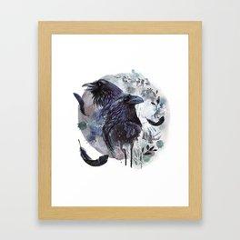Full Moon Fever Dreams Of Velvet Ravens Framed Art Print