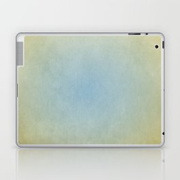 Blue & Gold Laptop & iPad Skin
