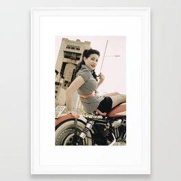 Pin Up Forever Framed Art Print