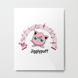 Jigglypuff Metal Print