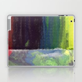 CRAYON LOVE: Rainbow Falls Laptop & iPad Skin
