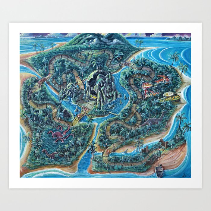 Cofresi Island Art Print