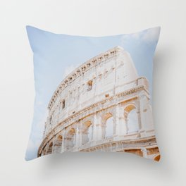 Colosseum III / Rome, Italy Throw Pillow
