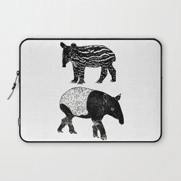 Malayan Tapir & Baby Laptop Sleeve